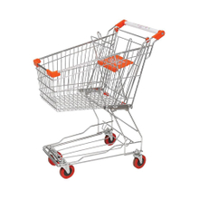 60L Asian Small Retail Supermarket Shopping Trolleys