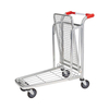 High Quality 2 Tier Warehouse Shopping Flat Trolley