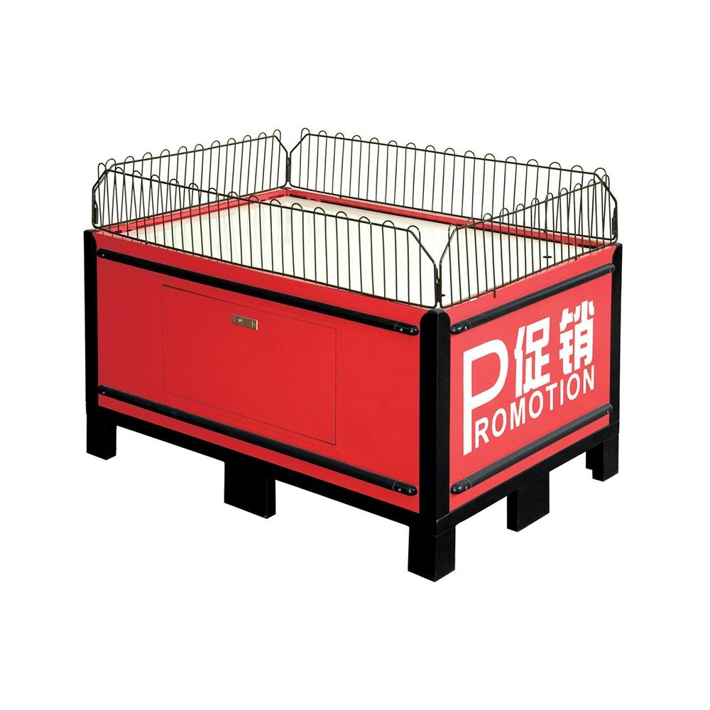 Portable Exhibition Display Counter Square Promotion Table