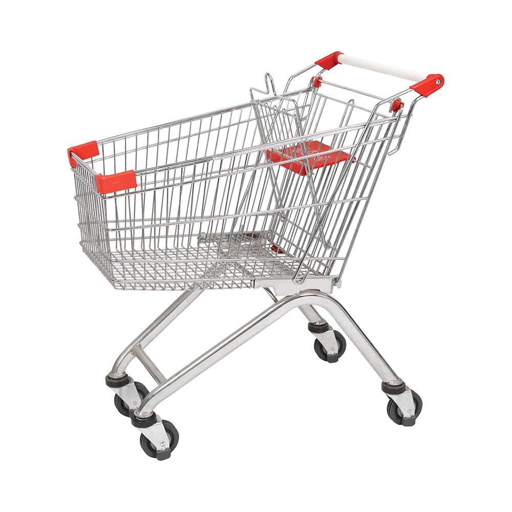 100L European Supermarket Large Capacity Shopping Cart