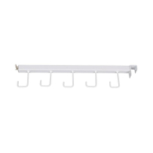 Metal Hanging Display Hook for Supermarket Basket Display