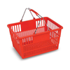 HDPP Material Plastic Stylish Shopping Basket for Supermarket