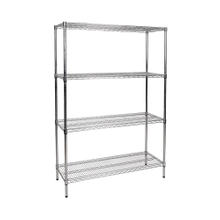 NSF Approval Adjustable Wire Shelf 6 Tier with Wheels
