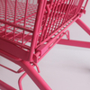 Large Capacity Zinc Plated Shopping Trolley for Vegetable Purchase