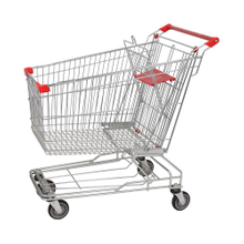 150L Asian Type Good Quality Supermarket Shopping Cart