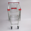 210L European Modern Escalator Metal Supermarket Carts