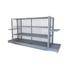 Heavy Duty Gondola Advertising Display Supermarket Shelf