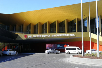Jinsheng Welcome the Melbourne Convention Exhibition Centre