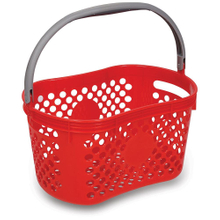 Small Plastic Utensils Shopping Basket with Single Handle