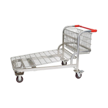 Heavy Duty Warehouse Garden Truck Picking Trolley