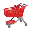 220L Factory Direct Sale Wholly Plastic Supermarket Trolley