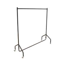 Standing Laundry Steel Hanger Double Pole Cloth Drying Rack