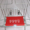 180L European Supermarket Escalator Metal Shopping Trolley