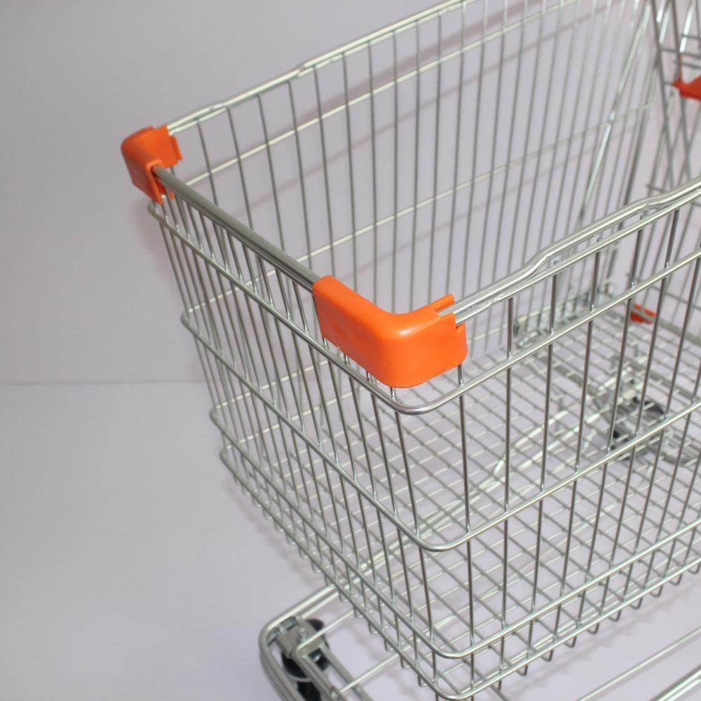 240L High Capacity Customized Size Asian Type Shopping Trolley