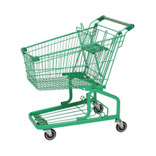 125L German New Metal Supermarket Push Cart