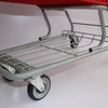 80L Small Double Layers Design Plastic Shopping Cart