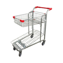 Heavy Duty Warehouse Flatted Platform Hand Trolley