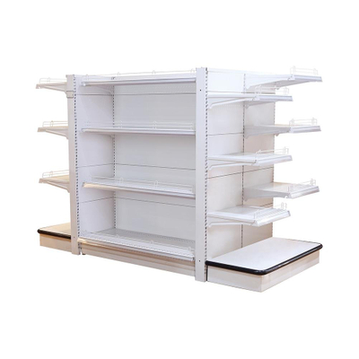 5 Layers Slatwall Panel Quality Commercial Supermarket Shelf