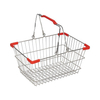 Supermarket Foldable Small Shopping Basket with Handle