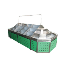 Fashionable Acrylic Fruit Vegetable Display Rack for Supermarket